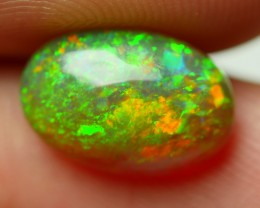 1.95 CRT STUNNING 3D PIN FIRE PATTERN MULTICOLOR WELO OPAL