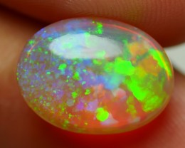 4.90 CRT GORGEOUS PATCHWORK STARS PIN FIRE MULTICOLOR WELO OPAL
