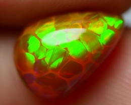 2.10 CRT PERFECT HONEYCOMB NEON FLASH BROWN BASE WELO OPAL