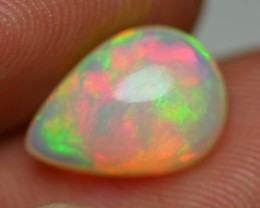 2.20 CRT BRILLIANT 5/5 CRYSTAL CLEAR HOLOGRAM NEON MULTYCOLOR WELO OPAL