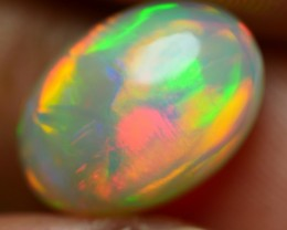 3.55 CRT GORGEOUS DELUXE BROADSTIPE FIRE PLAY COLOR WELO OPAL