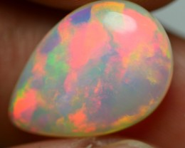 3.35 CRT BRILLIANT DOUBLE SIDE ROLLING FLASH FIRE WELO OPAL