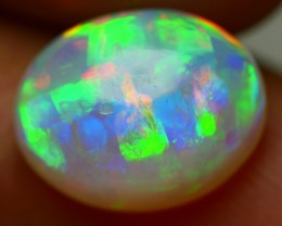 2.35 CRT WONDERFUL PATCHWORK ELECTRIC NEON PLAY COLOR WELO OPAL