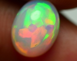 1.85 CRT GORGEOUS MILKY FLAGSTONE PUZZLE SWEET MILKY COLOR WELO OPAL