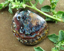 "32cts,""BOULDER MATRIX OPAL~DRILLED STONE"""