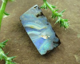 "17cts, ""BOULDER OPAL~NO MIDDLE MAN HERE"""