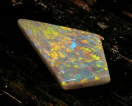 7.04 ct Certified Multicolor Mintabie Opal  - Low Reserve