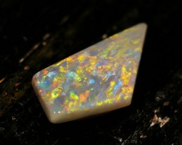 7.04 ct Certified Multicolor Mintabie Opal  - Low Reserve Price