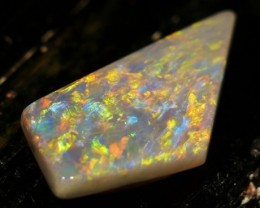 7.04 ct Rare Mintabie Multicolor Opal  - Free Insured Shipping