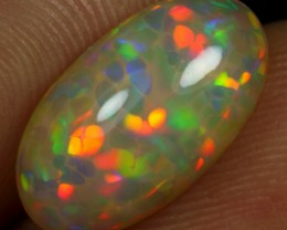 4.00cts NEON CELL HONEYCOMB Natural Ethiopian Welo Opal