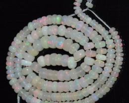 41.90 Ct Natural Ethiopian Welo Opal Beads Play Of Color