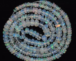 31.20 Ct Natural Ethiopian Welo Opal Beads Play Of Color