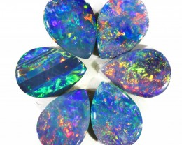 2.12CTS OPAL DOUBLET PARCEL GREAT COLOUR PLAY --S118
