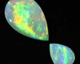 1.50CTS COOBER PEDY OPAL PAIR GREAT COLOUR PLAY   S137
