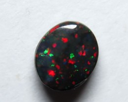 0.38ct Lightning Ridge Black Opal stone