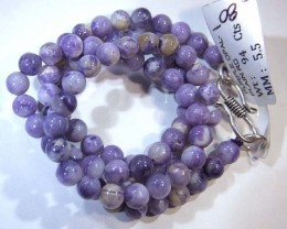 "94- CTS PURPLE OPAL BEADS - FROM MEXICO ""MORADO"" LO-4847"
