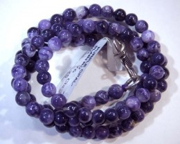 "76- CTS PURPLE OPAL BEADS - FROM MEXICO ""MORADO"" LO-4850"