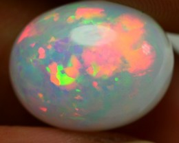 7.20 CRT GORGEOUS MILKY MICRO PUZZLE NEON FIRE WELO OPAL-