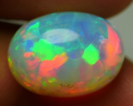 8.20 CRT BEAUTIFUL RAINBOW FLAGSTONE 5/5 MULTICOLOR WELO OPAL-