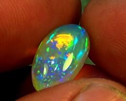 5.50 cts Ethiopian Welo CHAFF PINFIRE crystal opal N9 4,5/5