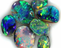 5.25 CTS SMALL BLACK OPAL ROUGH PARCEL FROM LIGHTING RIDGE[BR6405]
