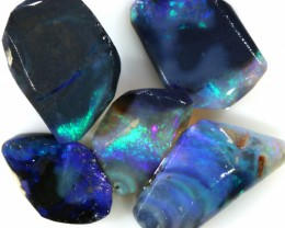11.75 CTS  BLACK OPAL ROUGH PARCEL FROM LIGHTING RIDGE[BR6419]