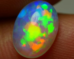1.30 CRT BRILLIANT CRYSTAL CLEAR NEON PUZZLE PATTERN WELO OPAL