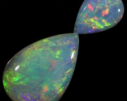 1.39 CTS SET OF CRYSTAL OPALS[SEDA1233]