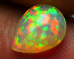 1.15 CRT PERFECT PRISM RAINBOW HONEYCOMB PATTERN PLAY COLOR WELO OPAL