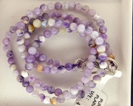 "49- CTS PURPLE OPAL BEADS - FROM MEXICO ""MORADO"" LO-4860"
