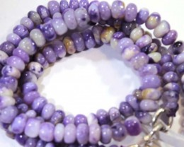 "70- CTS PURPLE OPAL BEADS - FROM MEXICO ""MORADO"" LO-4866"