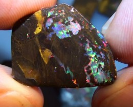80.75 ct Gem Koroit Multi Color Opal Rough Parcel
