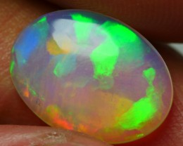 2.35 CRT BEAUTYFUL CRYSTAL CLEAR NEON PUZZLE PATTERN PLAY COLOR WELO OPAL