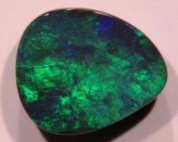 4.19 ct Bright Black Opal from Lightning Ridge - Free Insured Shipping