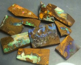 170.15 ct Boulder Opal Multi Color Rough Parcel
