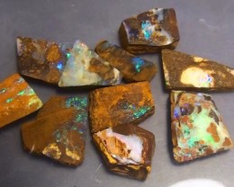 157.75 ct Boulder Opal Multi Color Rough Parcel