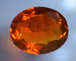 3CT MEXICAN FIRE OPALBRIGHT  FACETED STONE