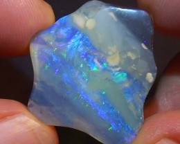 10.60 ct $1 NR Lightning Ridge Free Form Crystal Opal