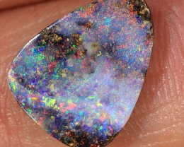 2.6ct 13x10mm Queensland Boulder Opal  [LOB-1550]