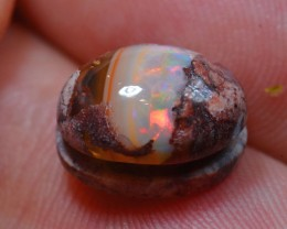 5.5cts. Natural Mexican Matrix Cantera Multicoloured Fire Opal
