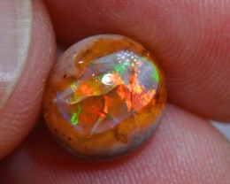 3.5ct Natural Mexican Matrix Cantera Multicoloured Fire Opal