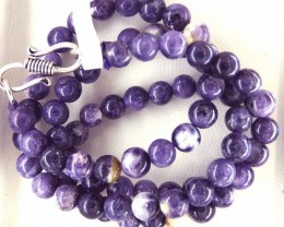 "106- CTS PURPLE OPAL BEADS - FROM MEXICO ""MORADO"" LO-4872"