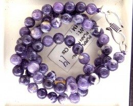 "109- CTS PURPLE OPAL BEADS - FROM MEXICO ""MORADO"" LO-4878"