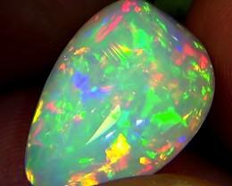 14.00 cts Ethiopian Welo RIBBON CHAFF brilliant opal N7 5/5