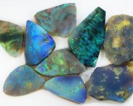 44Cts Sliced Mintabie  opal rough SU1334