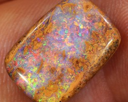 6.9ct 16x11mm Pipe Wood Fossil Boulder Opal  [LOB-1566]