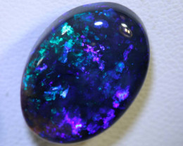 N1- 11.25 CTS QUALITY BLACK SOLID OPAL LIGHTNING RIDGE INV-359