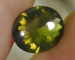 UNTREATED CLEAR GREEN FIRE INDONESIAN FACETED OPAL 2.00 CT