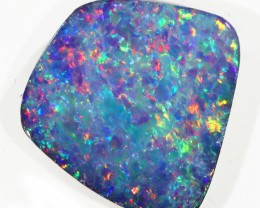 6.41CTS   OPAL DOUBLET GREAT COLOUR PLAY S242