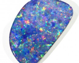 7.61CTS   OPAL DOUBLET GREAT COLOUR PLAY S243